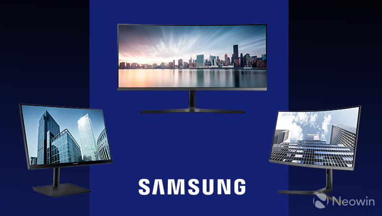 Samsung unveils three professional monitors ahead of IFA 2017