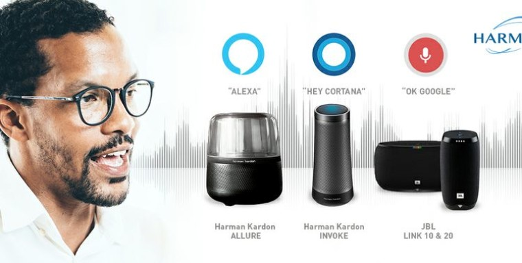 HARMAN's new speakers work with Amazon Alexa and Google Assistant