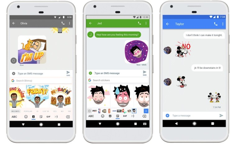 gboard for android gets updated with stickers and bitmoji neowin. Black Bedroom Furniture Sets. Home Design Ideas
