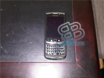BlackBerry Slider Opened