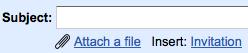 Gmail Insert Invitation
