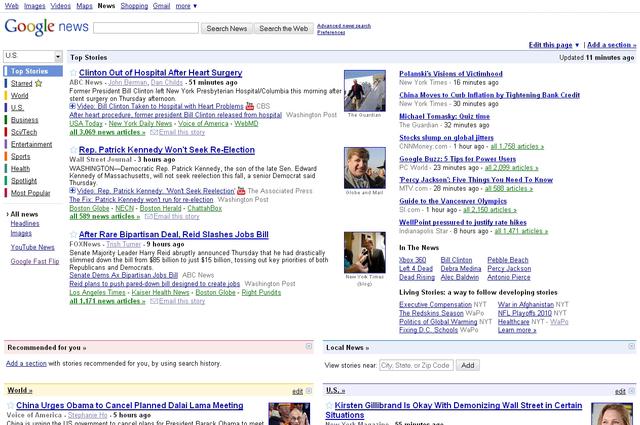 Old Google News