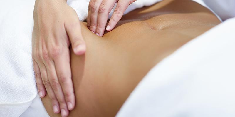 massagens para perder barriga