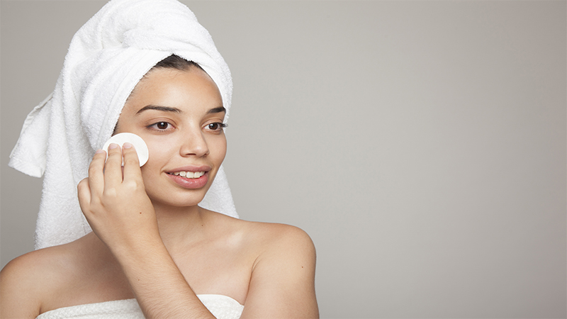 nao deixar de limpar a pele