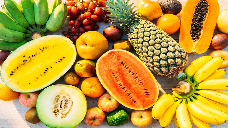 frutas piramide alimentar