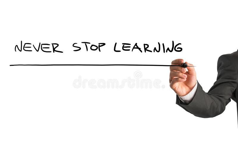 Nunca pare de Aprender