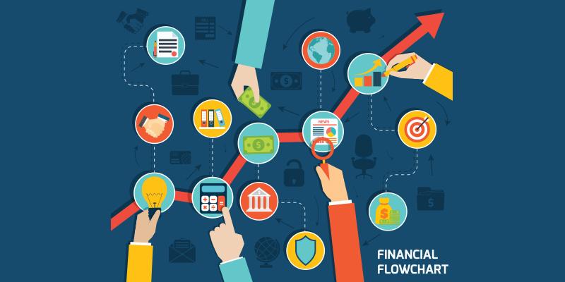 Organize as finanças