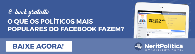 O que os políticos mais populares do Facebook fazem?