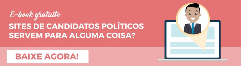 Sites de candidatos políticos servem para alguma coisa?