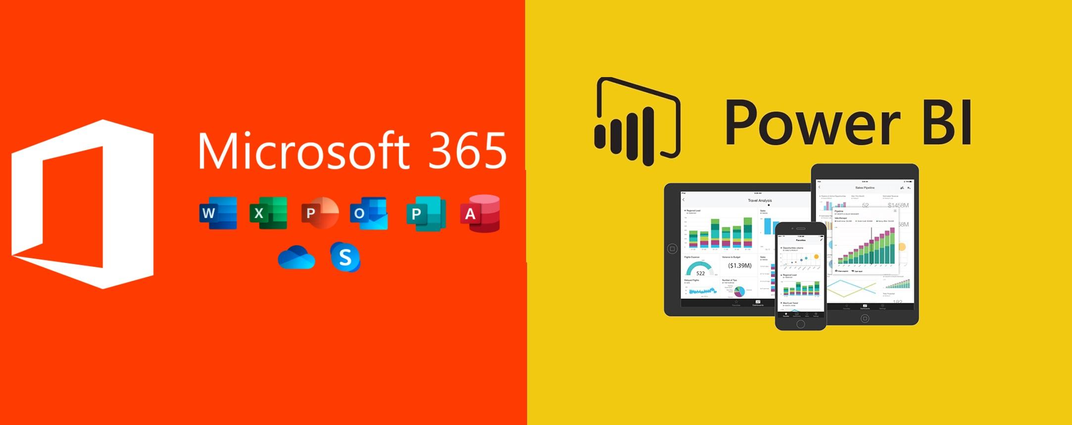Microsoft 365 + MS Power BI Essencial