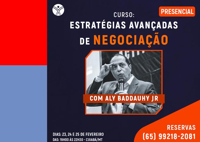 Estratégias Avançadas de Negociação - Cuiabá/MT - 23/02 a 25/02/2021