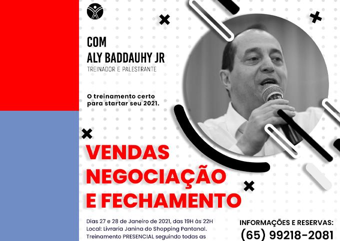 Vendas, Negociação e Fechamento - Cuiabá/MT -  27/01 a 28/01/2021