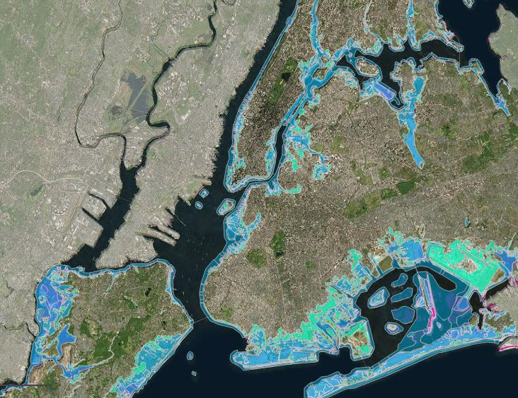 Nyc Map Gis.New York Climate Change Science Clearinghouse