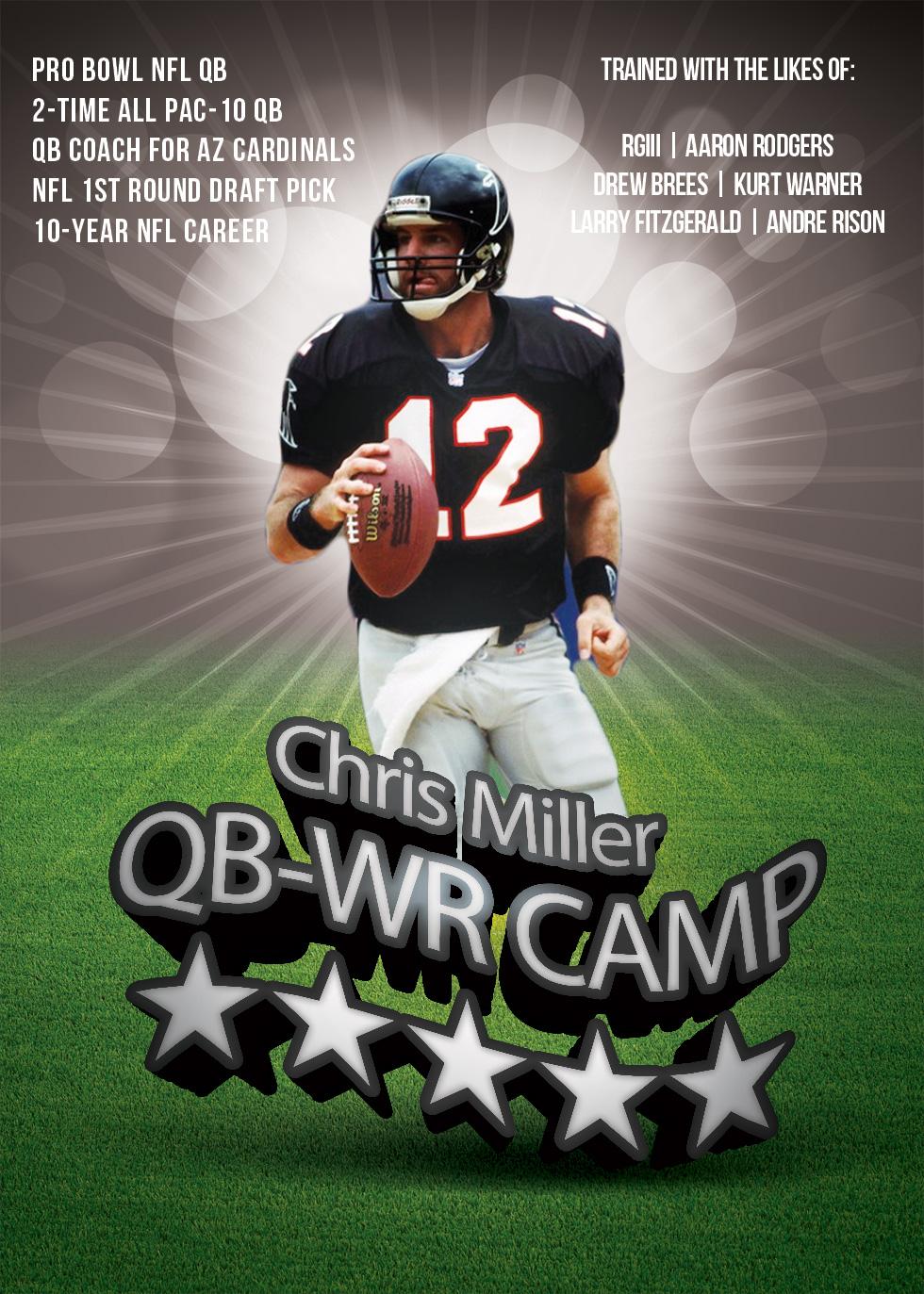 Chris miller qb camp generic