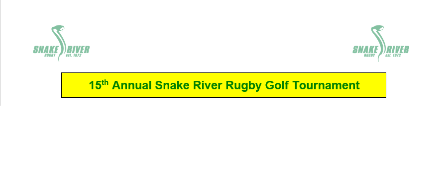 Golf touney logo