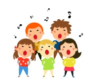 Children singing mini
