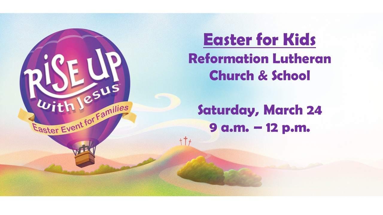 Easter for kids 2018