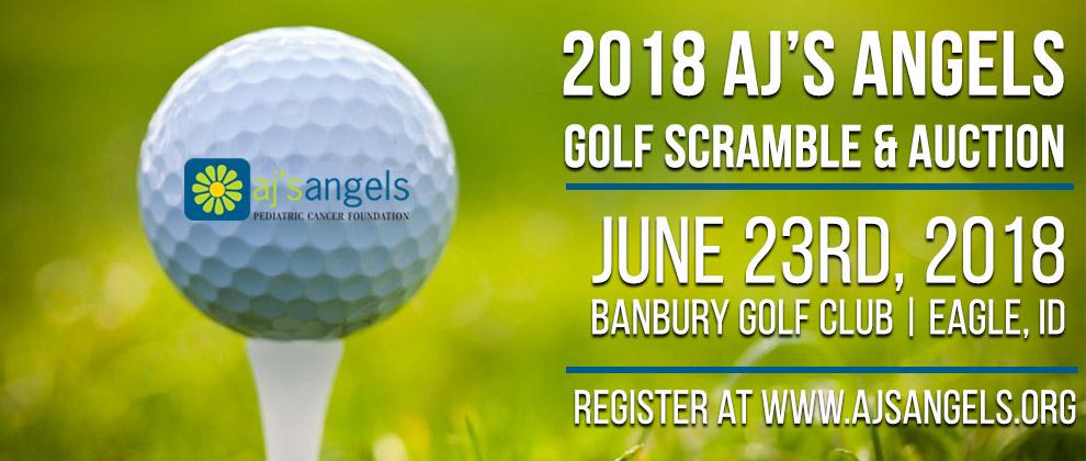 Aj 2018 golf banner