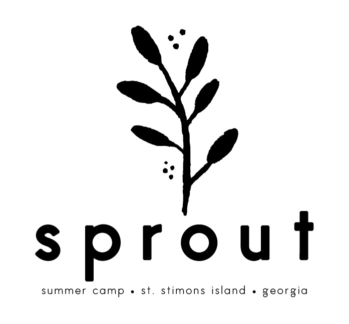 Sprout logo extended text