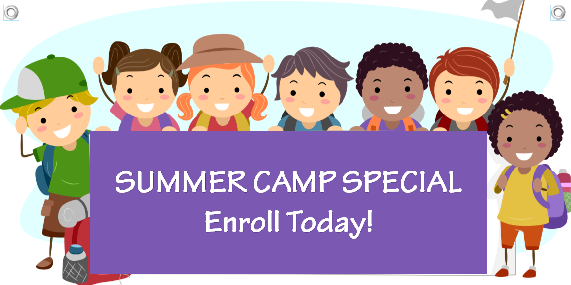 Summer camp banner template 10