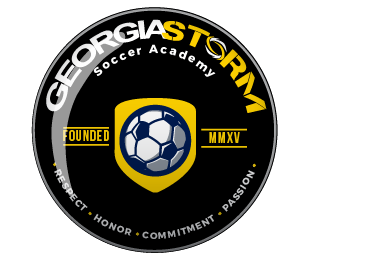 Gs badge logo  georgia storm   black