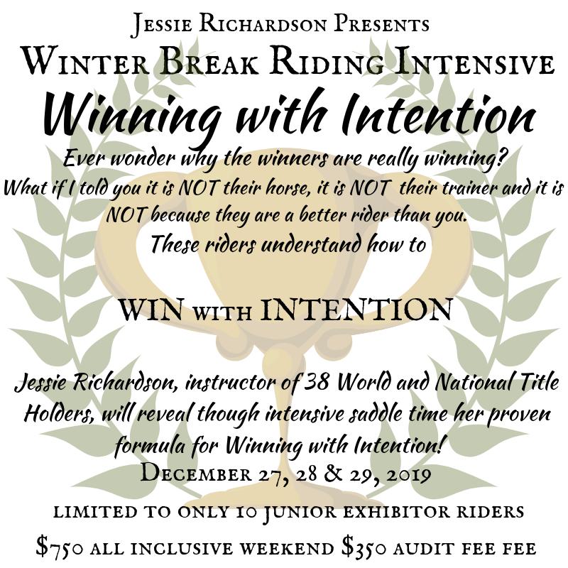 Copy of winter break riding intencive