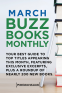 Cover Image: March 2017 Buzz Books Monthly