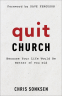 Cover Image: Quit Church