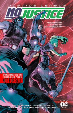 Cover Of Justice League: No Justice