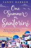 Cover Image: One Summer in Santorini