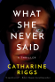 Cover Image: What She Never Said