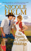 Cover Image: The Trouble with Cowboy Weddings