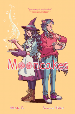 Cover of graphic novel, Mooncakes. Book review by Shanza of Miss Shanza.