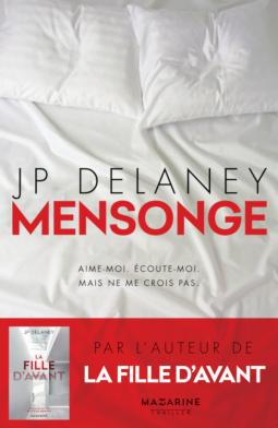 Mensonge de J.P. Delaney - Editions Fayard