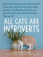 Cover Image: All Cats Are Introverts