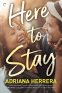 Cover Image: Here to Stay