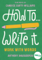 Cover Image: How To Write It