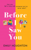 Cover Image: Before I Saw You