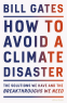 Cover Image: How to Avoid a Climate Disaster