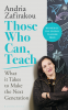 Cover Image: Those Who Can, Teach