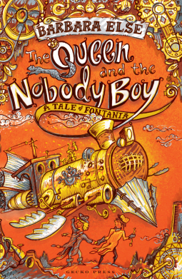 The Queen and the Nobody Boy book cover