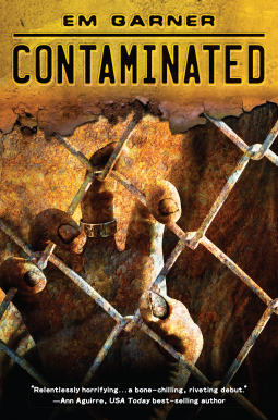 Contaminated book cover