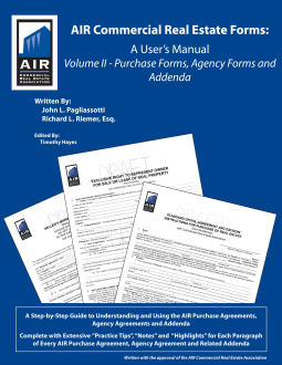 AIR Commercial Real Estate Forms | Timothy Hayes, John L ...