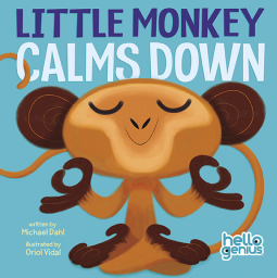 Little Monkey Calms Down book cover