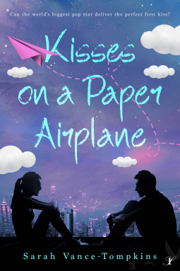 Kisses on A Paper Airplane Book Cover