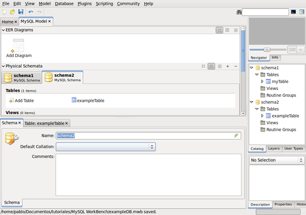 Visual database creation with mysql workbench clarifying concepts ccuart