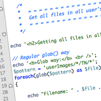 Link toQuick tip: loop through folders with php's glob()