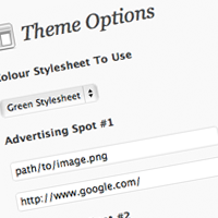 How to integrate an options page into your wordpress theme