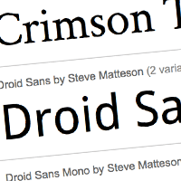 Preview for Quick Tip: Google Fonts API: You're Going to Love This