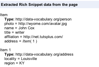 Microdata Information